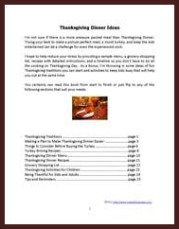 thaksgiving ebook index