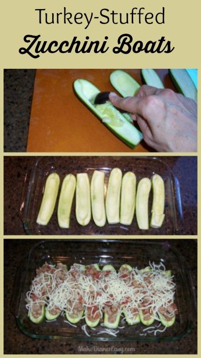 how to make stuffed zucchini boats