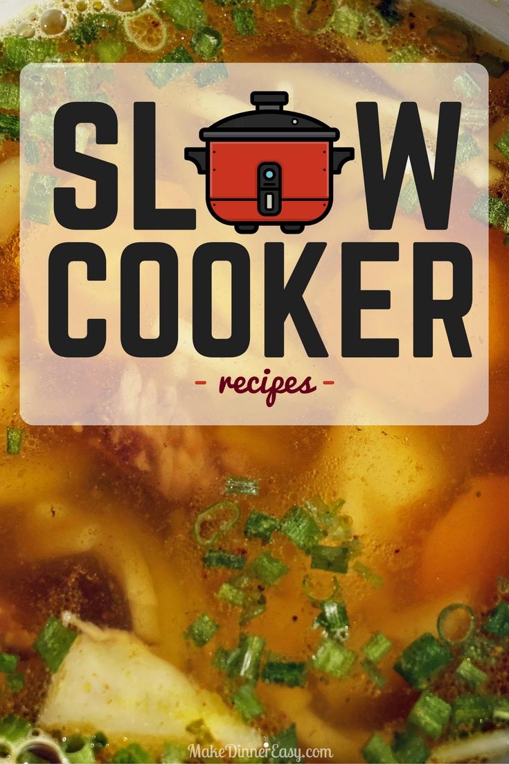 Slow cooker/ crock pot recipes pinterest.