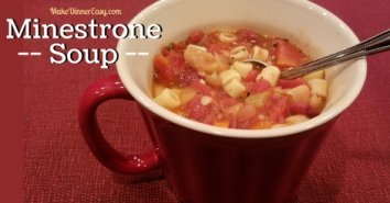 Minestrone Soup Recipe from MakeDinnerEasy.com