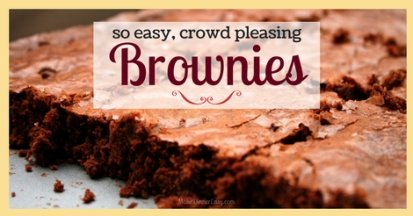 Brownies for a crowd.