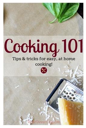 Basic cooking skills.