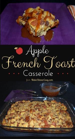 apple french toast casserole recipe