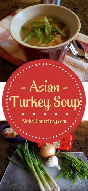 Asian Turkey Soup Recipe
