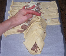 Photo of beef strudel recipe instructions