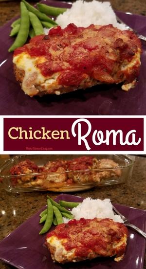 Baked Chicken Roma