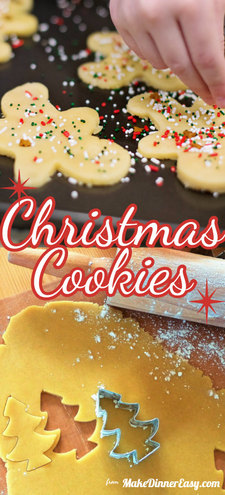 List of holiday Christmas cookie recipes