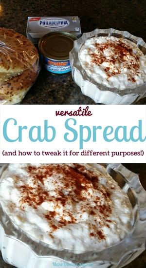 versatile crab spread
