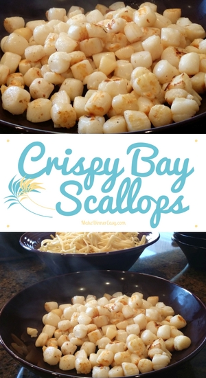 crispy bay scallops recipe