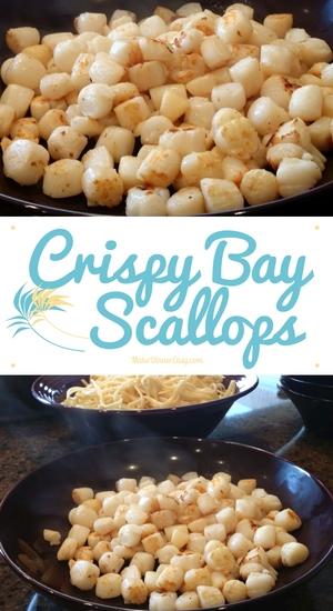 crispy bay scallops recipe