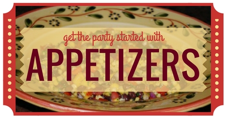 Easy appetizer recipes to get the party started.