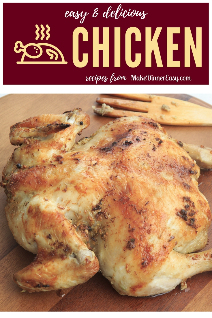 Easy chicken recipes pinterest.