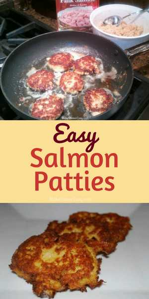 Go retro in an easy way with this Salmon Patty Recipe
