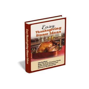 Easy Thanksgiving Dinner Ideas E-Book