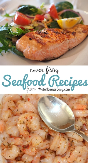 List of easy seafood recipes