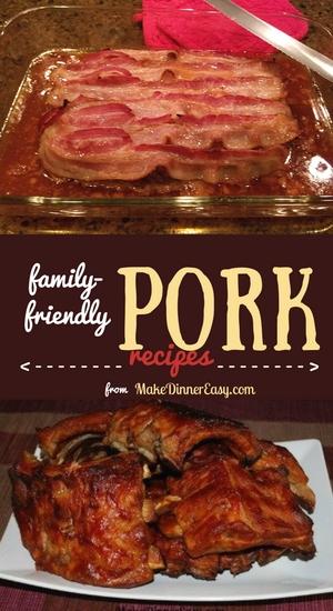 Easy pork recipes.