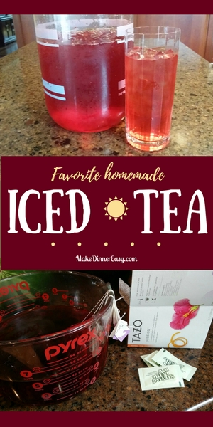 favorite homemade iced tea recipe