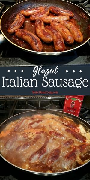 Glazed Italian Sausage Recipe