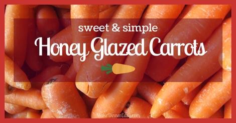 Honey glazed carrots recipe