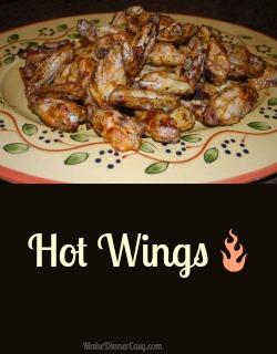 baked hot wings recipe