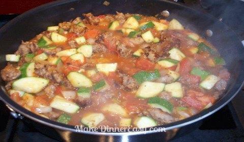itialian sausage skillet