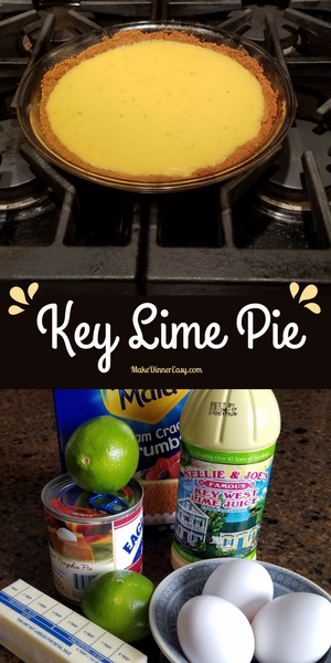 Easy Key Lime Pie Recipe