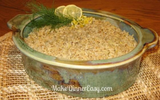 Lemon Dilled Rice