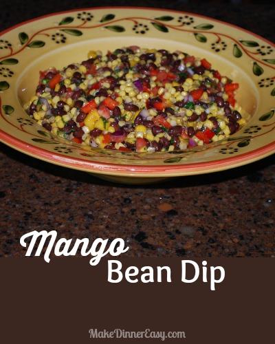 mango bean dip recipe