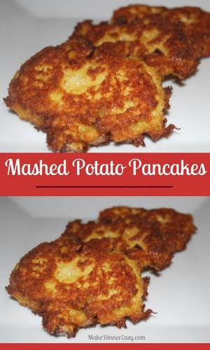 Mashed potato pancake recipe