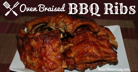 oven braised bbq ribs