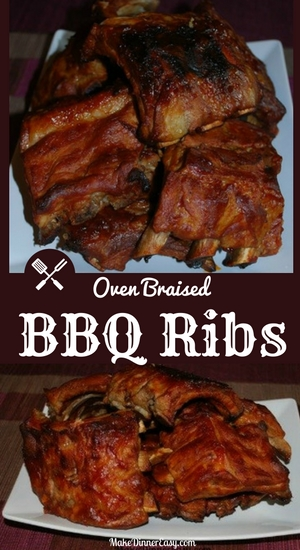oven braised bbq ribs recipe