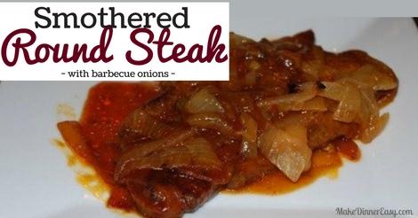smothered round steak
