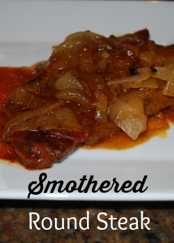 smothered round steak