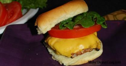 steakhouse burger recipe