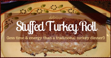 stuffed turkey roll recipe