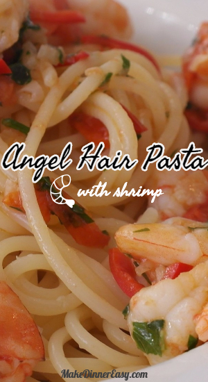 angel hair pasta with shrimp recipe