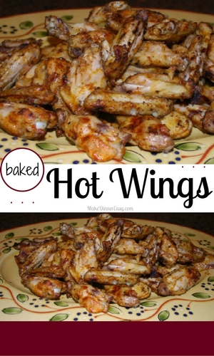 baked hot wings recipe
