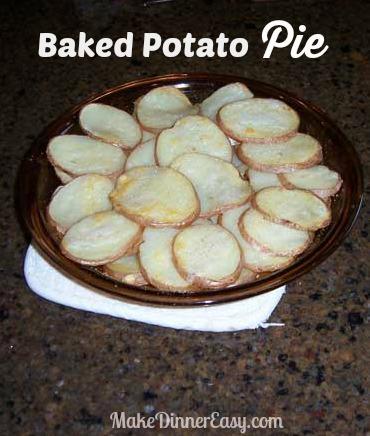 baked potato pie recipe