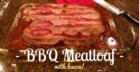 bbq bacon topped meatloaf recipe