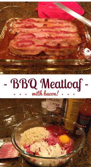 bbq meatloaf with bacon recipe