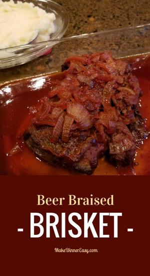 Beer Braised Brisket Recipe