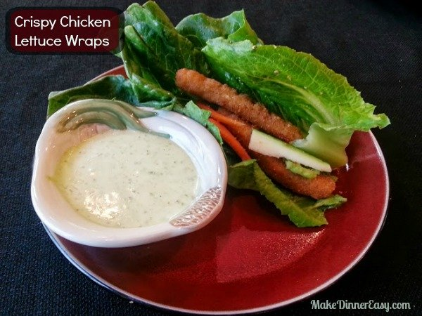 crispy chicken lettuce wraps