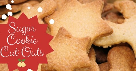 Christmas sugar cookie cut out recipe