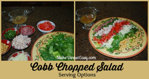 cobb chopped salad