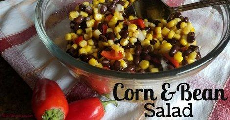 Corn and bean salad recipe