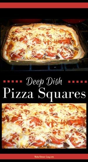 deep dish pizza squares recipe