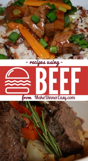 Family friendly beef recipes