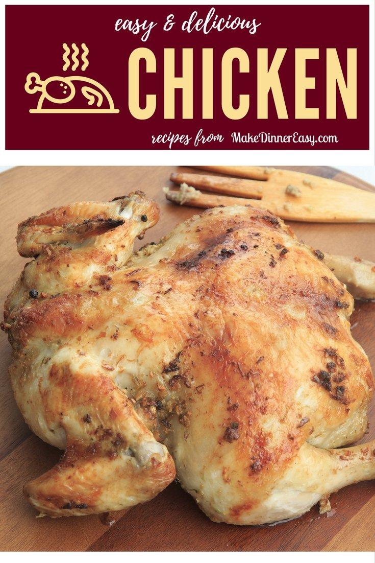 Easy chicken recipes pinterest.