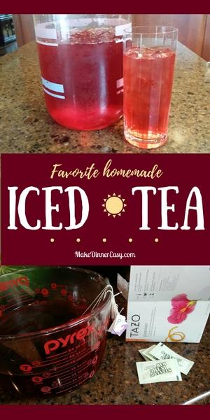 favorite homemade iced tea recipe