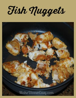 fish nuggets recipe